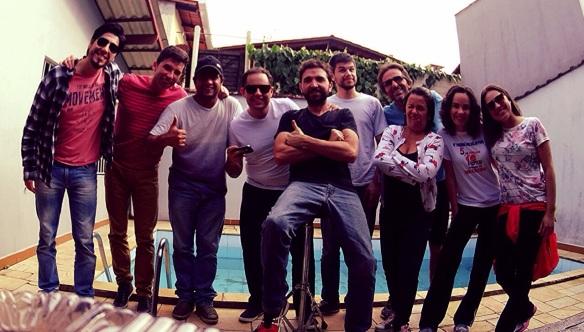 Após completar a prova, equipe confraterniza no StudioBacca com churras e algumas cervejinhas.